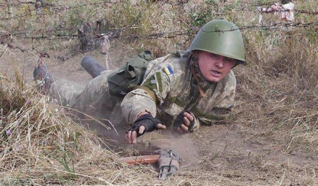 Курсанты Военной академии Одессы впервые тренировались (фото)