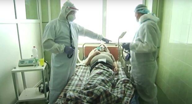 Больница в Ивано-Франковске, кадр из видео, изображение иллюстративное: YouTube