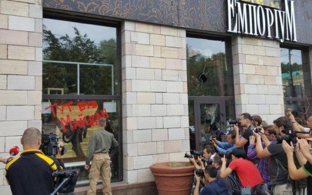 Ініціатор створення графіті Євромайдану пригрозив кривдникові