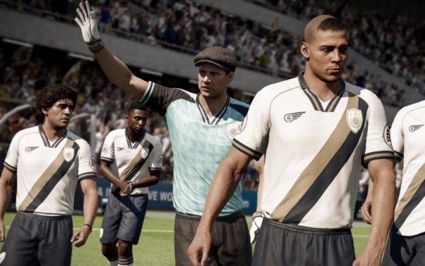 У новому спортивному симуляторі FIFA 18 з'являться Яшин і Марадона