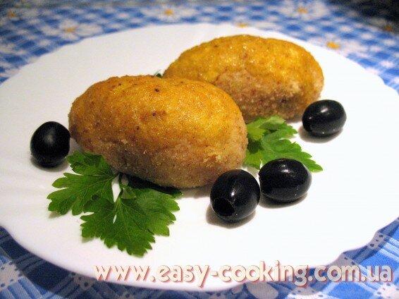 Картопляні зрази запечені в духовці