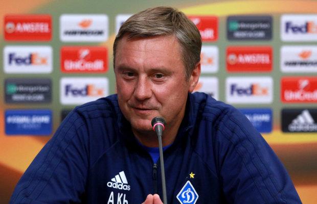Динамо приняло окончательное решение по Хацкевичу