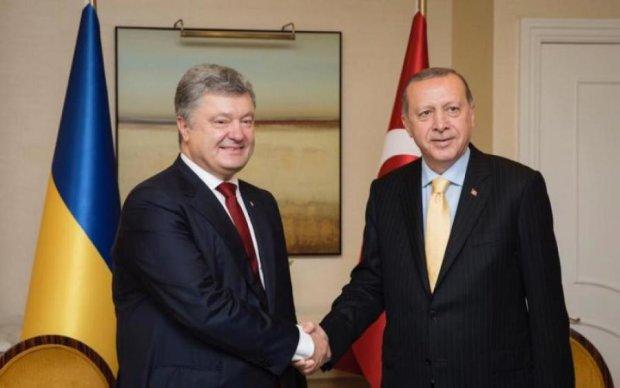 Порошенко подякував Ердогану за кримських в'язнів