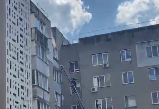 Пожежа в Одесі, скріншот: YouTube