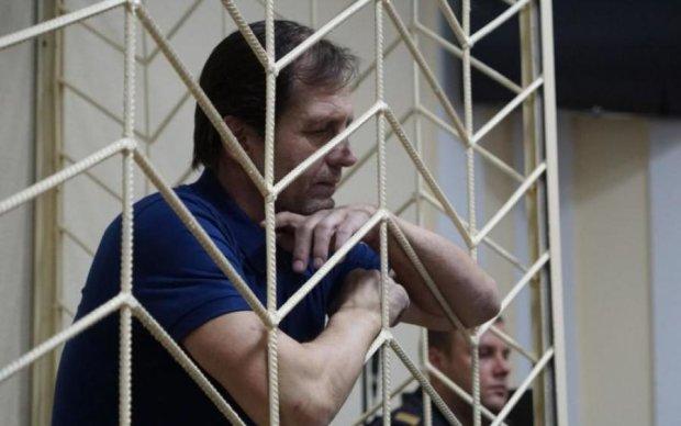 Минус 35 килограмм: узник Кремля Балух усилил голодовку