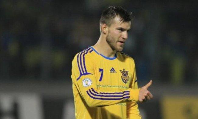 Сборная Украины обыграла Словению