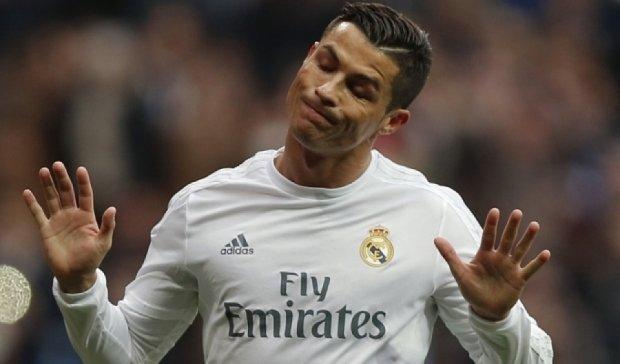 Від Роналду немає користі  в іграх із серйозними суперниками