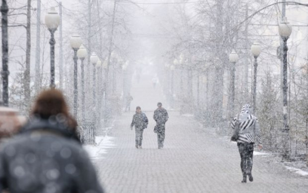 Негода вбила сімох українців