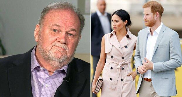 """Батько Меган Маркл відчитав герцогиню за лицемірство: """"Зовсім не чудові"""""""