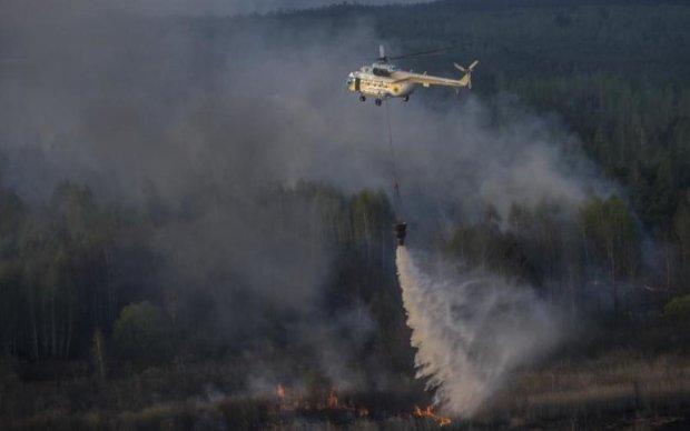 Спасатели локализовали пожар в радиоактивном лесу