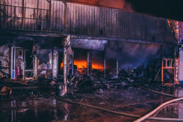 пожар на Минской