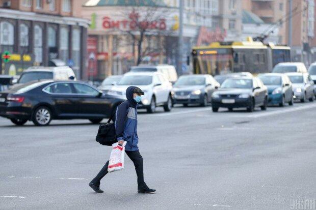 карантин в Киеве, фото: Униан