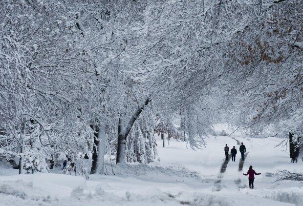 Сніг, фото: GettyImages