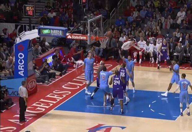 Матч НБА, фото YouTube