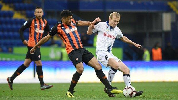 Чорноморець ледь не створив сенсацію в матчі з Шахтарем