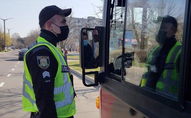 Коронавирус в Украине, фото: Национальная полиция
