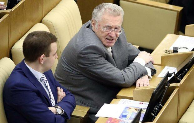 Залишки мозку зрадили Жириновському: маразматична тирада про Зеленського та Путіна просочилася в ефір