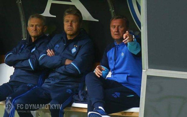 Тренер Динамо прокоментував перший матч команди під своїм керівництвом