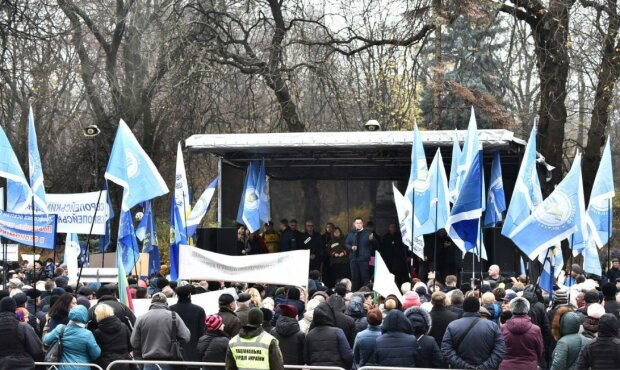 Митинг педагогов, фото: bykvu.com
