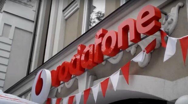 Vodafone, скріншот з відео