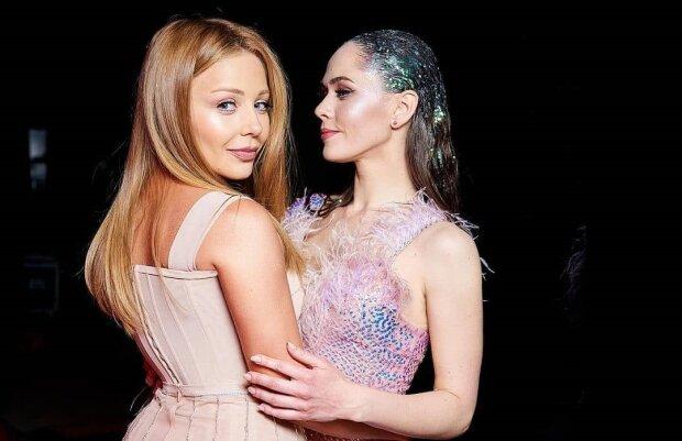 Тина Кароль и Юлия Санина, фото с Instagram