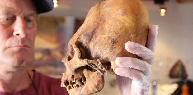 инопланетный череп