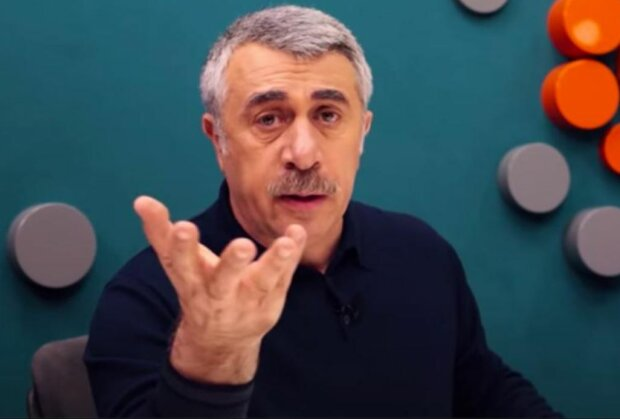 Евгений Комаровский, скриншот: YouTube