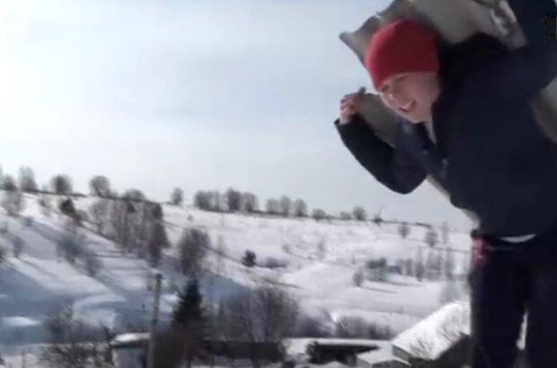 Любовь Васильева, кадр из видео