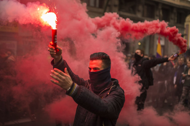 Студенти КПІ посеред ночі влаштували бійню зі стріляниною: троє постраждалих, все залито кров'ю