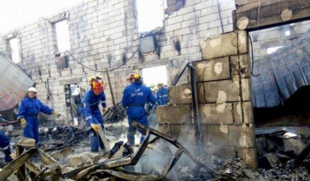 Главным подозреваемым в киевском пожаре стал владелец учреждения