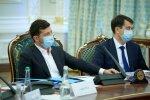 Владимир Зеленский и Дмитрий Разумков, фото: president.gov.ua
