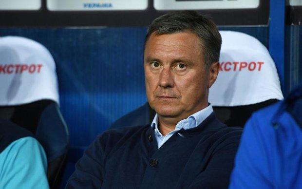 Тренер Динамо прокоментував поразку в Суперкубку України