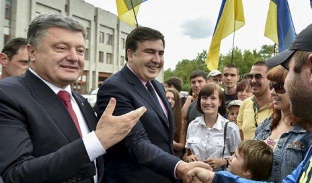 Саакашвили может стать №1 в списке от Кличко-Порошенко