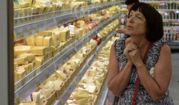 Майже 90% росіян виступили проти знищення санкційних продуктів
