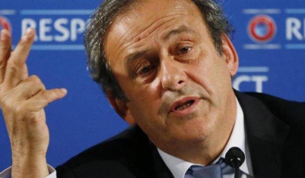 Платіні йде на вибори президента ФІФА