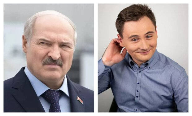 Лукашенко і Степан Путило: фотоколаж