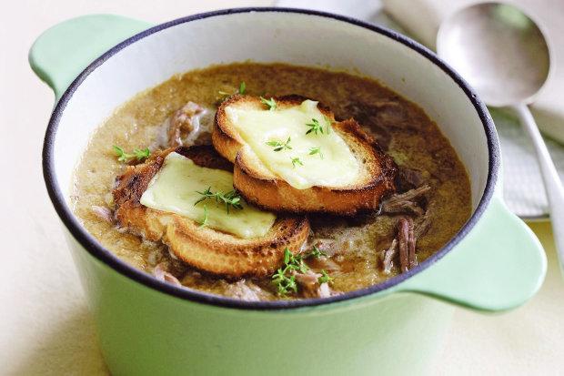 Найкращий рецепт супу з цибулею