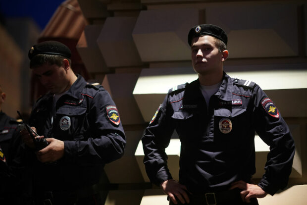 Російські поліцейські, фото: Getty Images
