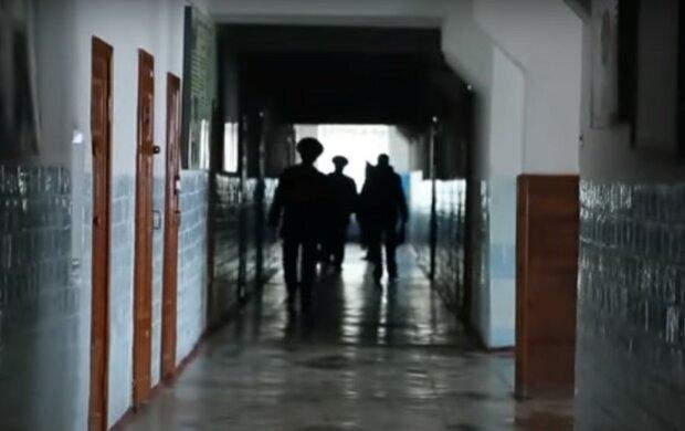 тюрьма, скриншот из видео