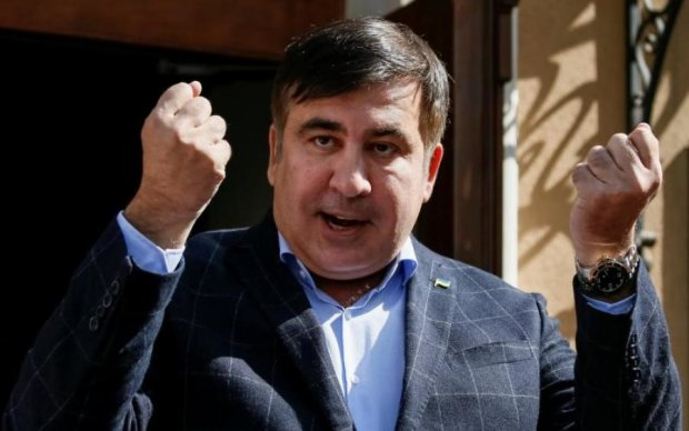 Спецназ ворвался к Саакашвили