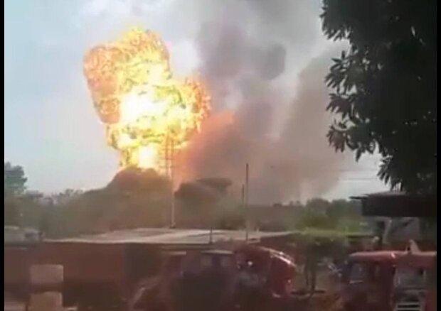 Взрыв / скриншот из видео