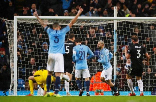 Ман Сіті розгромив Бернлі і пройшов далі у Кубку Англії: відео