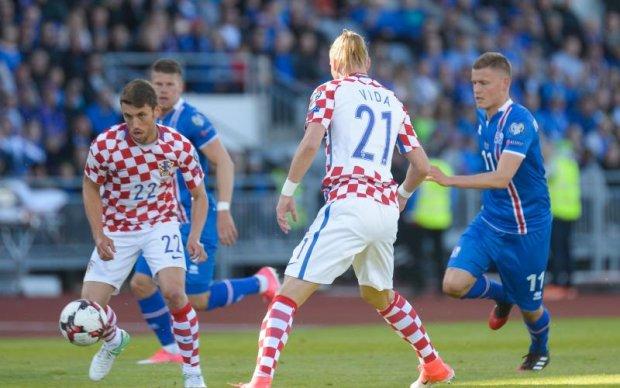 Ісландія вирвала перемогу над Хорватією та інші результати відбору ЧС-2018