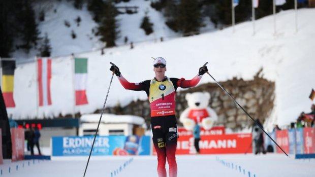 Норвежец Бе снова победил, украинцы квалифицировались в масс-старт