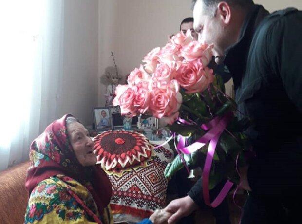 Поздравление Козий Ангелины Ивановны, фото: Facebook Долынская РГА