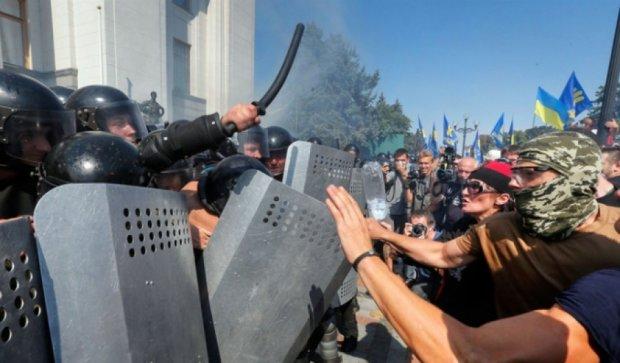 В бойне под Радой виновата милиция и власть - «Свобода»