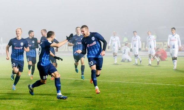 УПЛ: Десна благодаря двум голам в первом тайме выиграла у Карпат