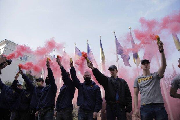 акція протесту Нацкорпусу