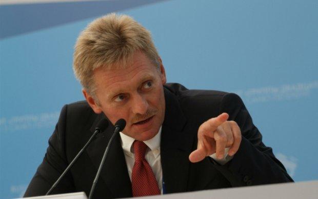 Пєсков з Кремля розгледів якийсь нуль в Україні