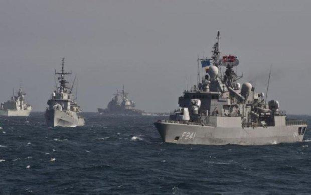 Ударные корабли НАТО вошли в Черное море